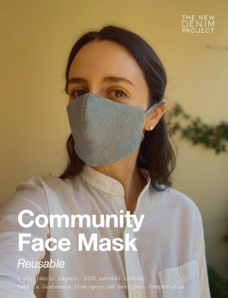 KORDAL Community Face Masks - Denim