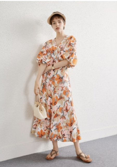 CAARA Asti Dress - Multi