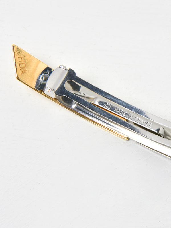 Sylvain le Hen Barrette CUT01 - Gold/Silver