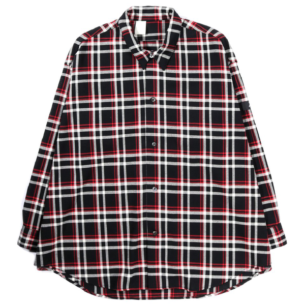 N.Hoolywood Undercover Shirt - BLACK CHECK