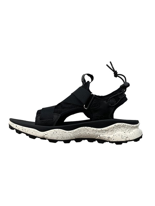 FLOWER MOUNTAIN Nazca Sandal - Total Black