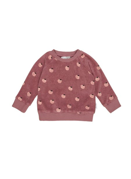 Kids Huxbaby Apple Terry Sweatshirt - Plum