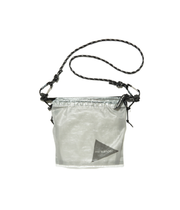 and wander Cuben Fiber Sacoche bag - White