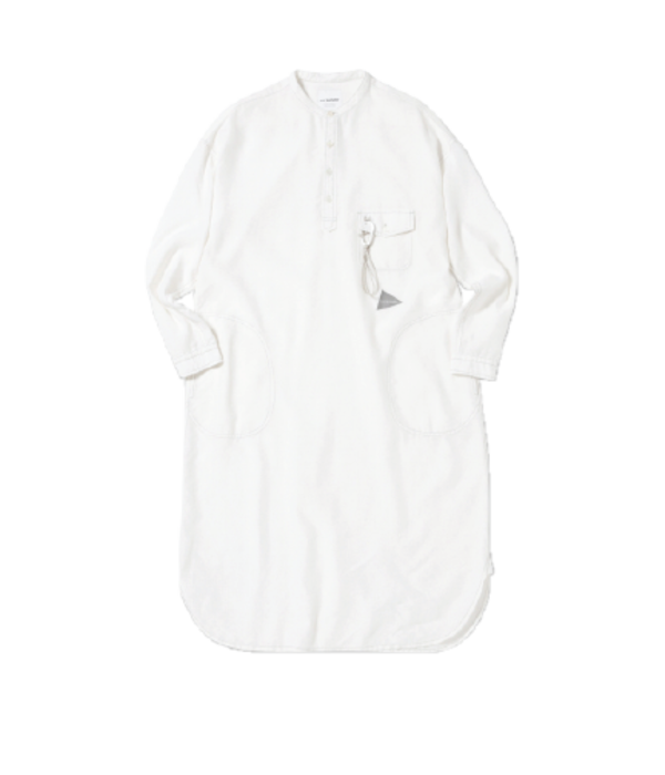and wander Dry Linen Tunic - White