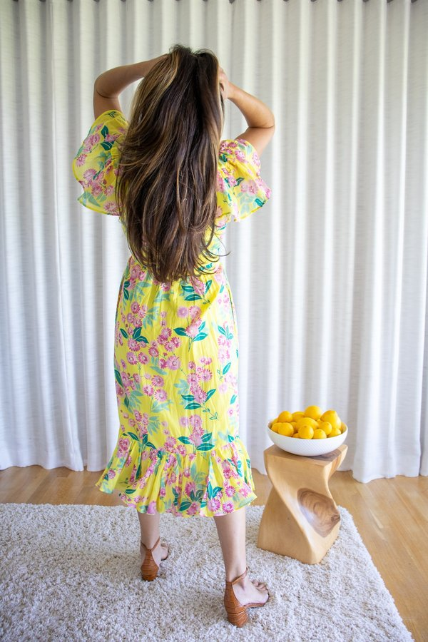 Banjanan Monica Dress - Aurora
