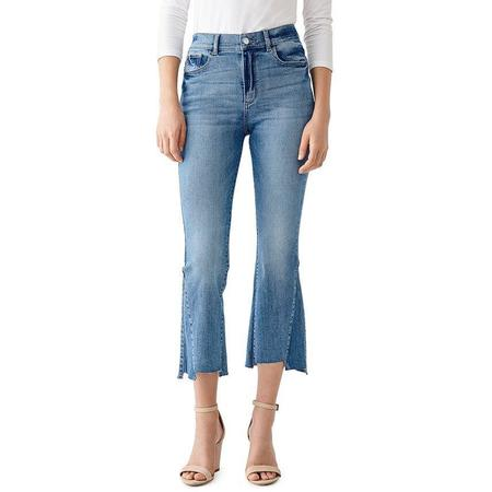 DL 1961 Bridget Cropped High Rise Bootcut Jean Ludgate