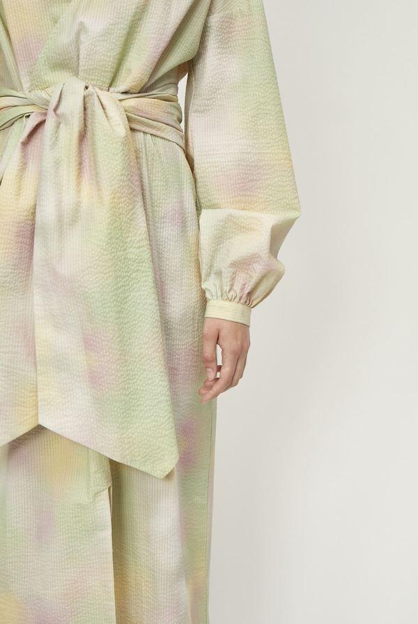 Just Female Nikki Maxi Dress - Pastel Tie Dye