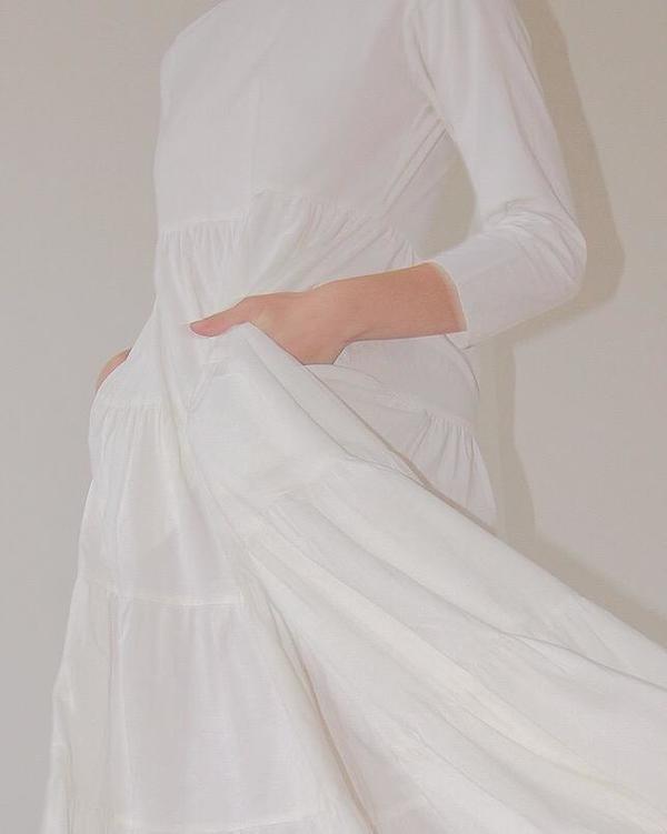 Ajaie Alaie She's A Soloist Dress - Cloud