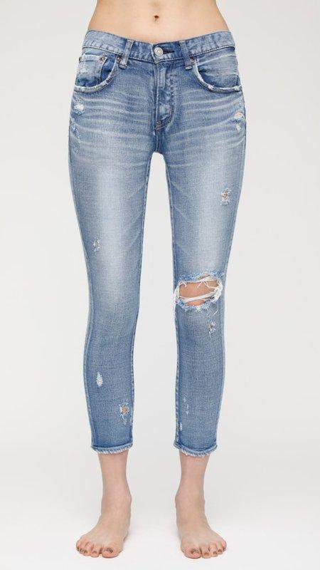 Moussy Helendale Skinny Jeans - Light Blue