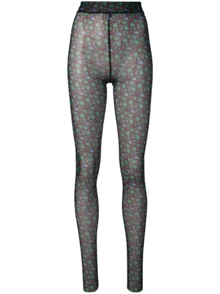 HENRIK VIBSKOV POLLEN TIGHTS - GREEN