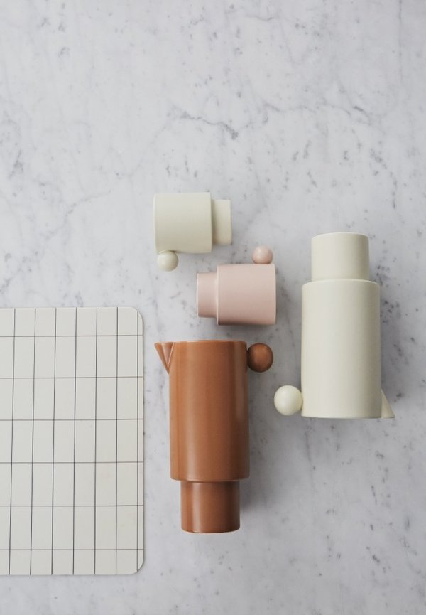 OYOY Inka Cups Set of 2 - White