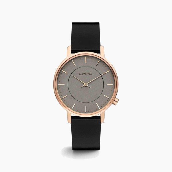 Poketo Komono Harlow Watch - Rose Gold/Black