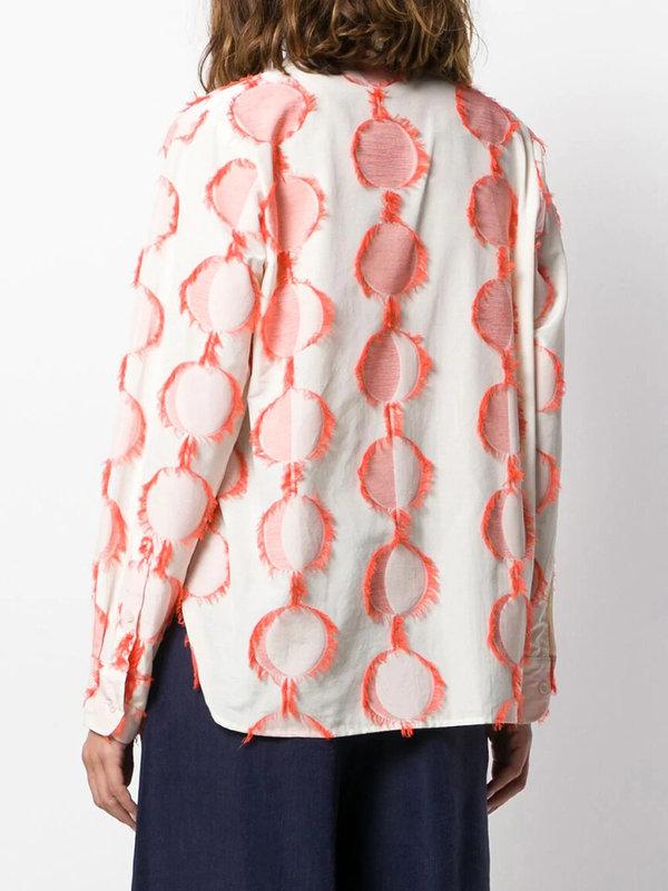 Henrik Vibskov Crane Shirt - Cream Moon