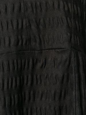 Henrik Vibskov Prawn Dress - Black Seersucker