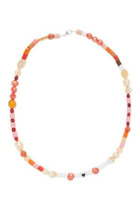 Wald Candy Man Necklace - Red