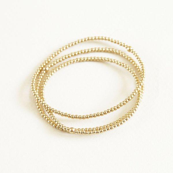 Karen Lazar Small Beaded Bracelets