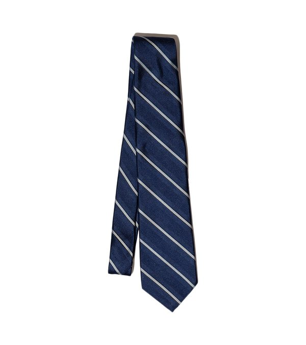Freemans Sporting Club Freemans Necktie - Blue Stripe