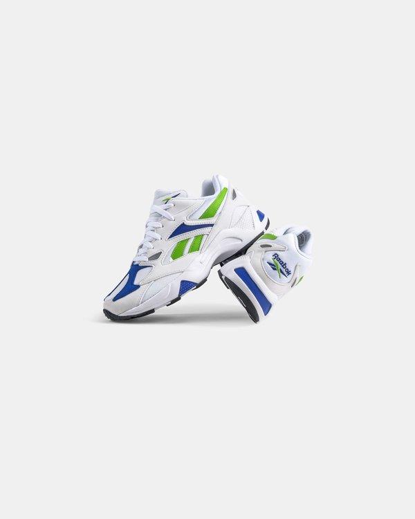 Reebok Aztrek 96' Sneakers - White/Cobalt