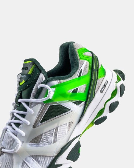 Reebok Cottweiler DMX Trail Shadow - White/Darkest Olive/Green Smash