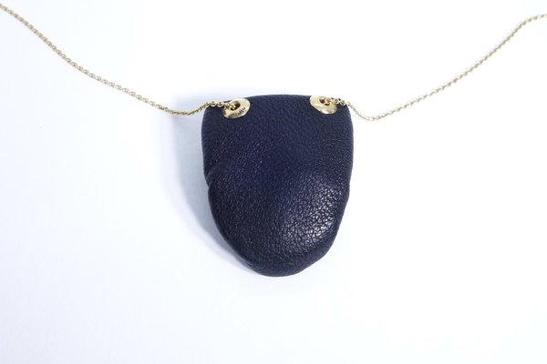 Talisman Floating Diamond Pouch Necklace