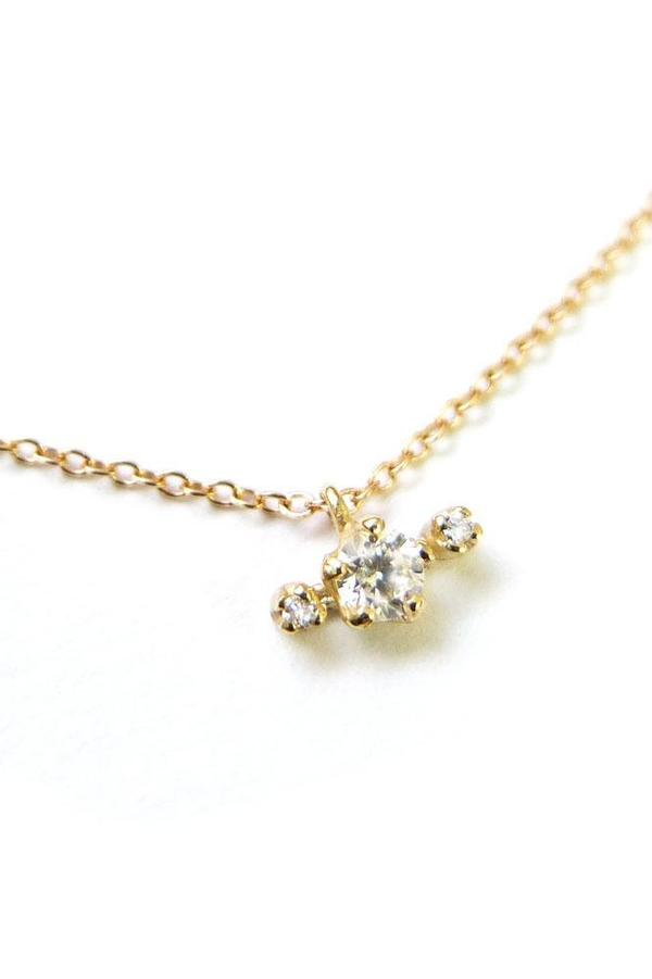 n+a new york Candy! Diamond Necklace - Yellow Gold