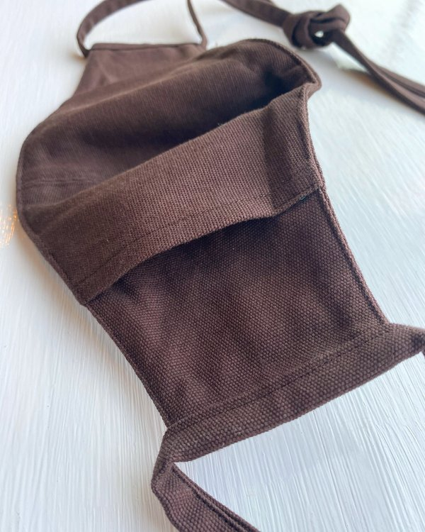 Tony Shirtmakers American Brushed Cotton - Duck Coffee