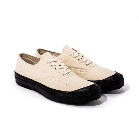 The Real McCoy's USN Canvas Deck shoes - White
