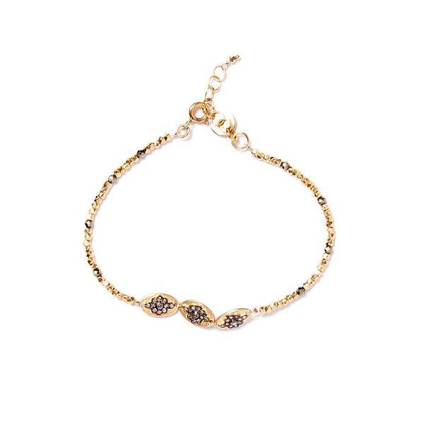 5 Octobre Funk Bracelet - Gold Plate