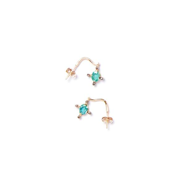 5 Octobre Jade Earrings