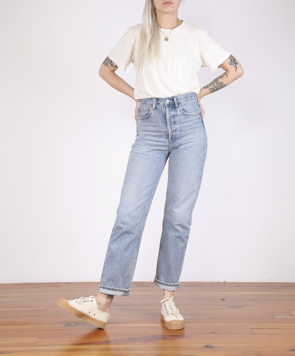 AGOLDE-90's Loose Fit High Rise - AFFAIR