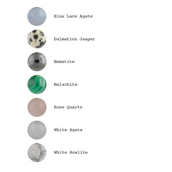 Quarry Adelaide Earrings - White Howlite