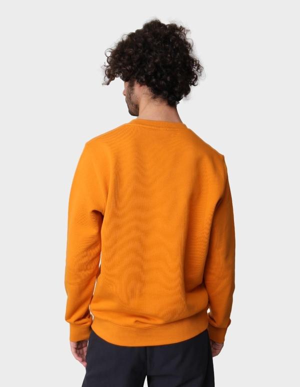 Norse Projects Vagn Classic Crewneck - Cadmium Orange