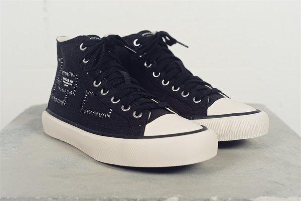 article nº Linen Canvas sneaker - black