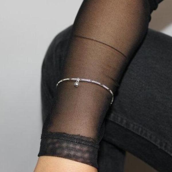 COSMIC TWIN Wrecking Ball Bracelet - Sterling Silver