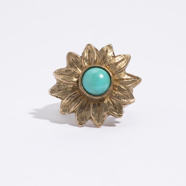 Saint Claude x Freda Sunflower Ring - Brass
