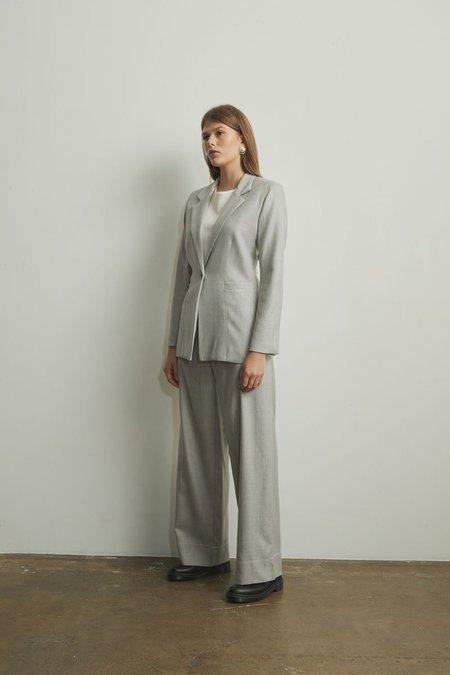 Mina Obom Blazer - Silver