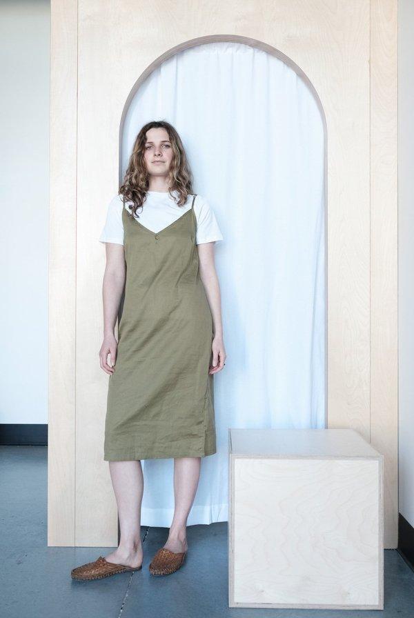 Gravel & Gold Erra Dress - Grass
