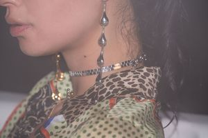 PAR ICI Jewellery Teardrop Earrings
