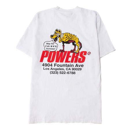 Powers Hyena Shop t shirt - White