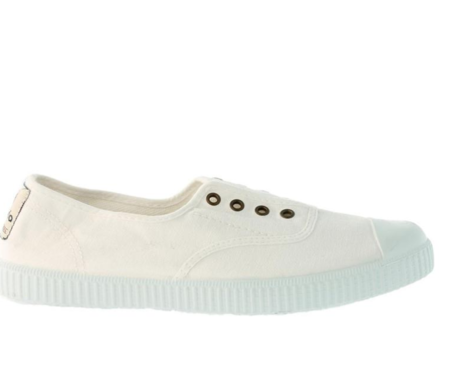 Victoria Spanish Sneakers Plimsolls - Blanco