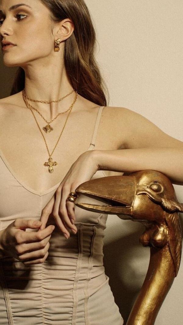 Pamela Card Pombaline Wrap Necklace