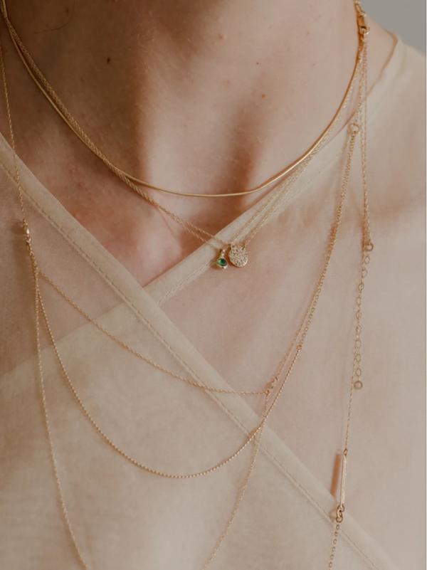 blanca monrós gómez mabel necklace - 14k gold