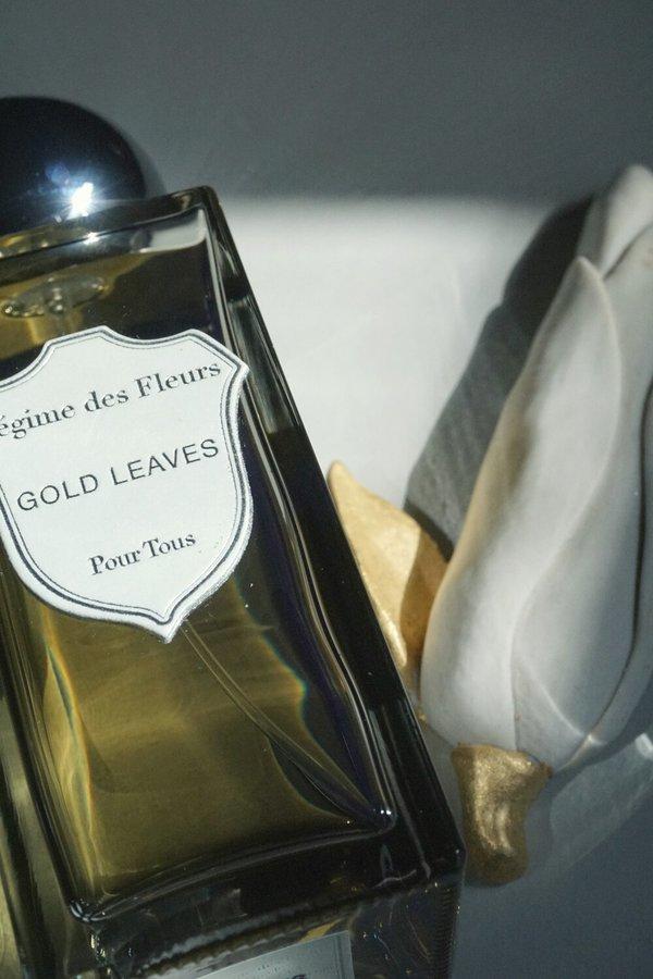 REGIME DES FLEURS GOLD LEAVES EAU DE PARFUM