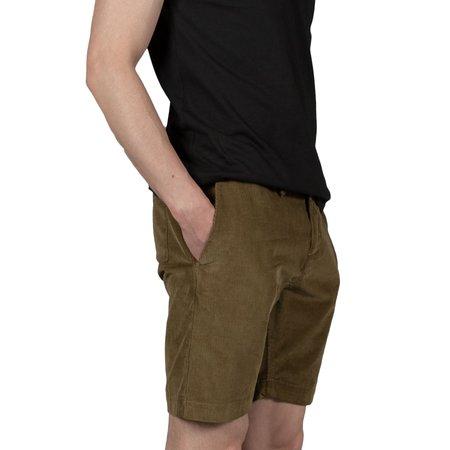 Kestin Inverness Cord Short - Moss Green
