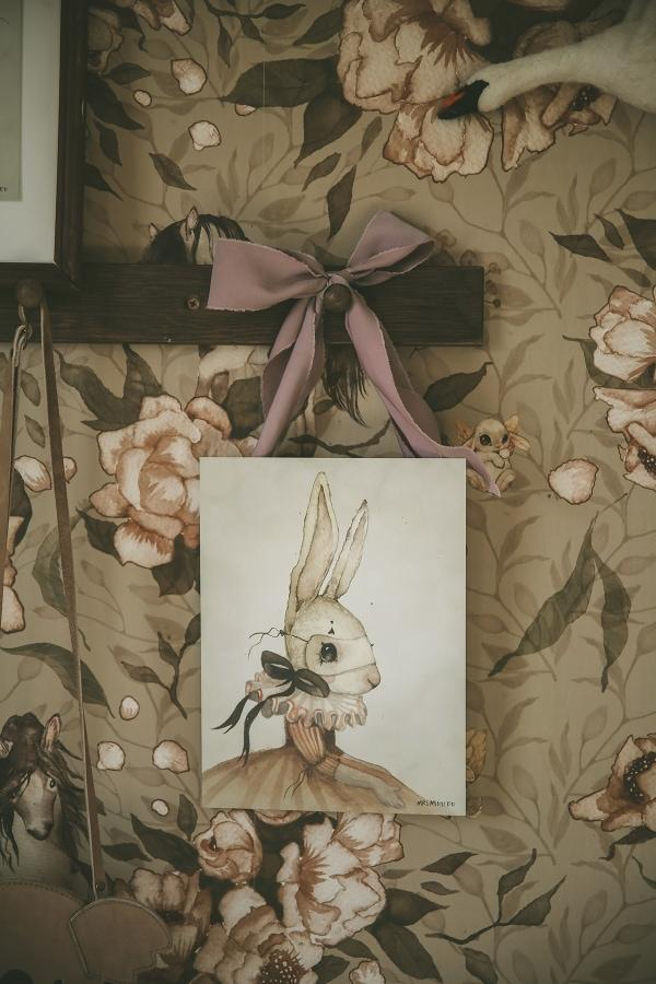 Mrs. Mighetto Miss Iris 18x24cm Limited Edition Print