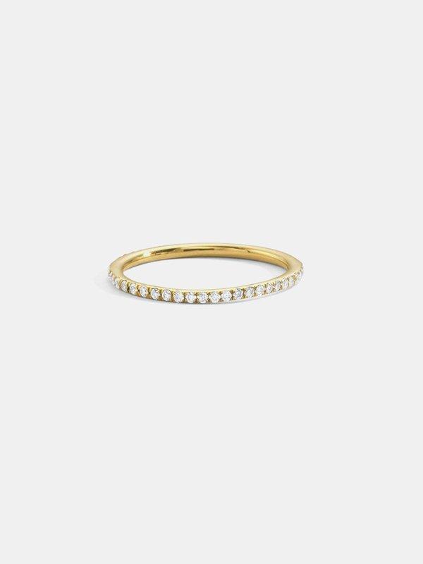 blanca monrós gómez slim eternity band - 18k gold