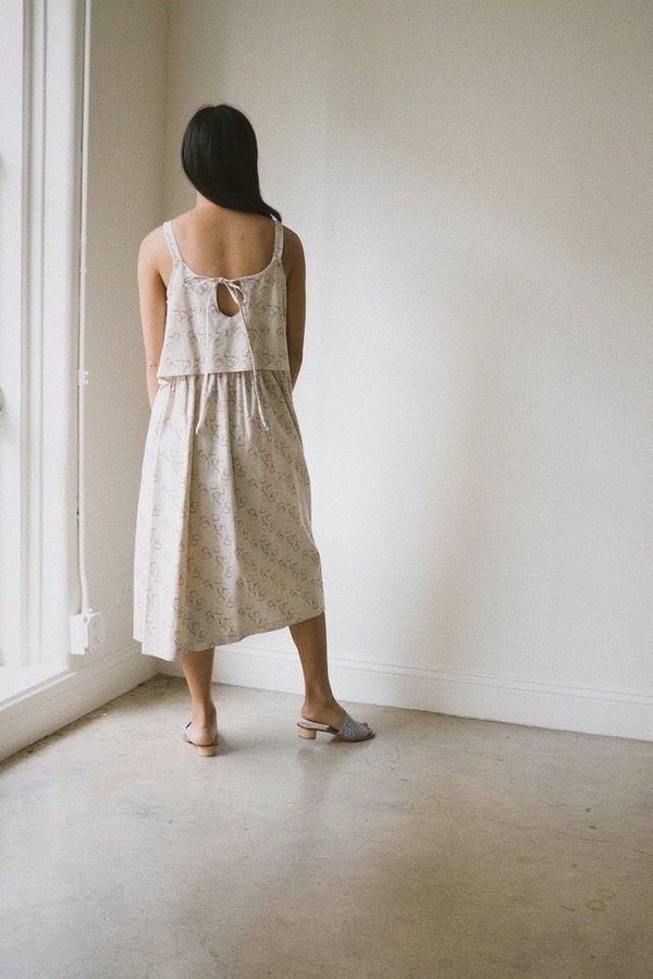 S E L V A \ N E G R A Minato Dress - Planeta