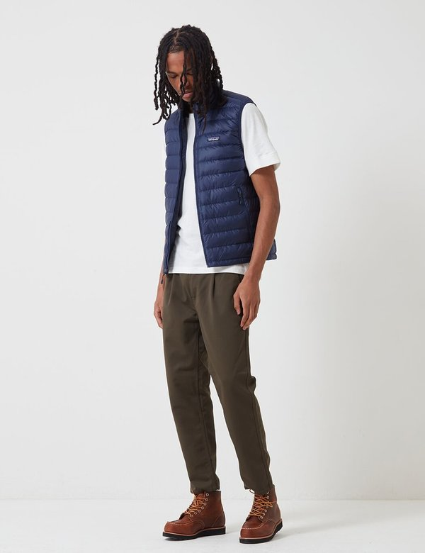 Patagonia Down Sweater Insulated Vest - Classic Navy Blue