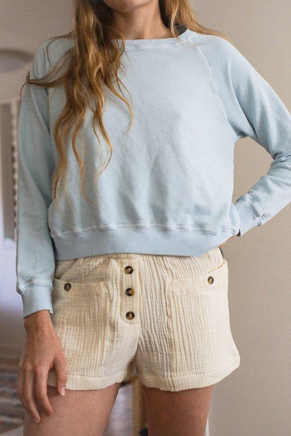 BACK BEAT RAGS Organic Cotton Boxer Shorts - Natural