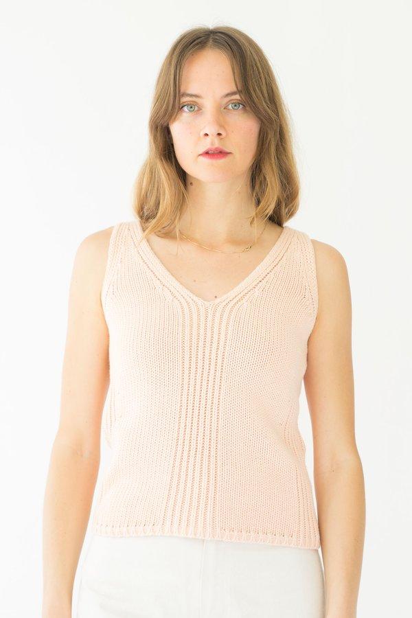 Vintage JCREW Knit Top - Light Pink